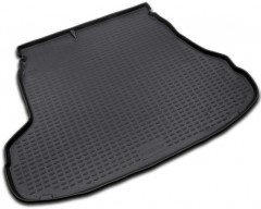 Коврик в багажник для Kia Magentis '06-11, полиуретановый (Novline) черный