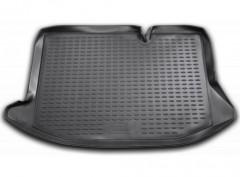 Коврик в багажник для Ford Fiesta '02-09, полиуретановый (Novline / Element) черный