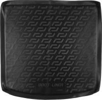 Коврик в багажник для Mitsubishi Outlander '12- (с органайзером), резиновый (Lada Locker)