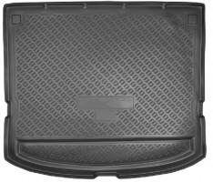 Коврик в багажник для Kia Carens '07-12, 5 мест резино/пластиковый (Norplast)