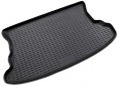 Коврик в багажник для Kia Sportage '04-10, полиуретановый (Novline / Element) черный
