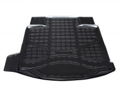 Коврик в багажник для Chevrolet Malibu '12-, полиуретановый (NorPlast) черный