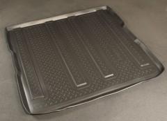 Коврик в багажник для Kia Carnival '06-12, резино/пластиковый (Norplast)
