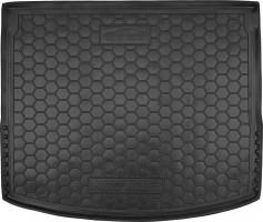 Коврик в багажник для Mazda 3 '14- хетчбэк, резиновый (Avto-Gumm)