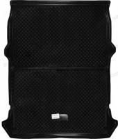Коврик в багажник для Fiat Doblo Cargo '01-09 полиуретановый, черный (Nor-Plast)
