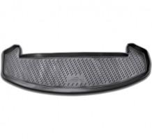 Коврик в багажник для Nissan Qashqai +2 '06-14 (короткий), полиуретановый (Novline / Element) черный