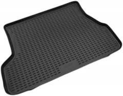 Коврик в багажник для Hyundai Accent '01-05 седан, полиуретановый (Novline / Element) черный