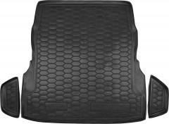 Коврик в багажник для Mercedes S-Class W222 '13-, с регулировкой сид., резиновый (AVTO-Gumm)