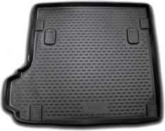 Коврик в багажник для BMW X3 E83 '03-09, полиуретановый (Novline / Element) черный