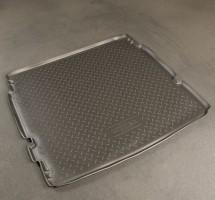 Коврик в багажник для Chevrolet Orlando '11- (длинный), полиуретановый (NorPlast) черный