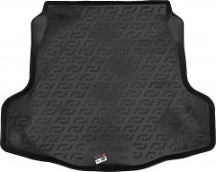 Коврик в багажник для Nissan Teana '08-14, резино/пластиковый (Lada Locker)