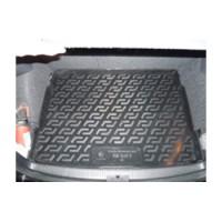 Фото 1 - Коврик в багажник для Volkswagen Golf V '04-09 хетчбэк, с полноразмерным зап. колесом, резино/пластиковый (Lada Locker)