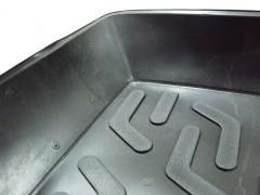 Фото 3 - Коврик в багажник для Volkswagen Golf V '04-09 хетчбэк, с полноразмерным зап. колесом, резино/пластиковый (Lada Locker)