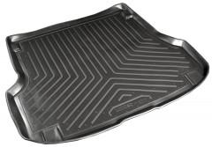 Коврик в багажник для Ford Mondeo '01-07 универсал, резино/пластиковый, черный (Nor-Plast)