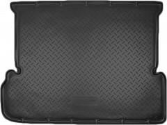 Коврик в багажник для Toyota LC Prado 150 '10- (7 мест, длинный), полиуретановый (NorPlast) черный
