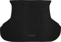 Коврик в багажник для Lada (Ваз) Priora 2170 '07- седан, текстильный черный