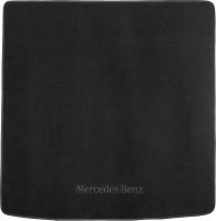 Коврик в багажник для Mercedes ML-Class W164 '05-11, текстильный черный