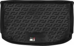 Коврик в багажник для Kia Soul '14-, резино/пластиковый (Lada Locker)