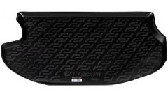 Коврик в багажник для Mitsubishi Outlander '03-07, резиновый (Lada Locker)