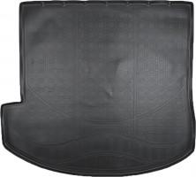 Коврик в багажник для Hyundai Grand Santa Fe '13-17 DM (7 мест), резино/пластиковый (Nor-Plast)