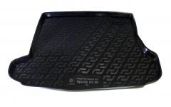 Фото 1 - Коврик в багажник для Hyundai i30 FD '07-12 универсал, резино/пластиковый (Lada Locker)