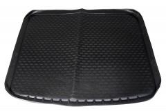 Коврик в багажник для Nissan X-Trail '08-15 (без органайзера), полиуретановый (Novline / Element) черный