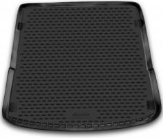 Коврик в багажник для Audi Q7 '05-14, полиуретановый (Novline / Element) черный