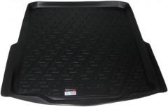 Коврик в багажник для Skoda Superb '09-14 седан, резиновый (Lada Locker)