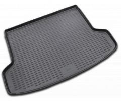 Коврик в багажник для Kia Rio '05-11 седан, полиуретановый (Novline / Element) черный