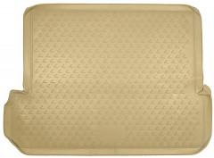 Коврик в багажник для Lexus GX 460 '09-, 7 мест, полиуретановый (Novline / Element) бежевый