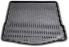 Коврик в багажник для Ford Focus 2 (II) '04-11 седан, полиуретановый (Novline / Element) черный
