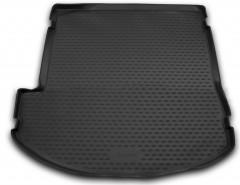Коврик в багажник для Hyundai Grand Santa Fe '13-17 DM, полиуретановый, сложен. 3 ряд, High-Tech (Novline / Element)