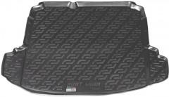 Коврик в багажник для Volkswagen Jetta V '06-10 седан, резиновый (Lada Locker)