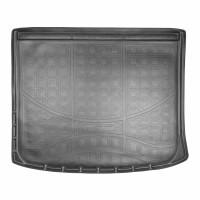 Коврик в багажник для Jeep Cherokee '14- полиуретановый, черный (Nor-Plast)