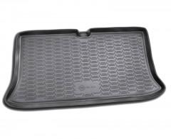 Коврик в багажник для Nissan Micra '03-10, полиуретановый (Novline / Element) черный EXP.999TLK12BL