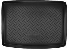 Коврик в багажник для Volkswagen Golf Plus V '05-09, резино/пластиковый (Norplast)