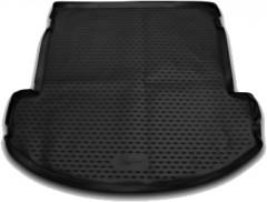 Коврик в багажник для Hyundai Grand Santa Fe '13-17 DM, полиуретановый, сложен. 3 ряд (Novline / Element)