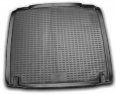 Коврик в багажник для Peugeot 407 '04-10 седан, полиуретановый (Novline / Element) черный