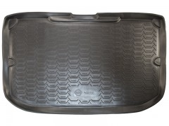 Коврик в багажник для Nissan Note '06-13, полиуретановый (Novline / Element) черный