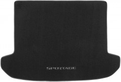 Коврик в багажник для Kia Sportage 2016 -, текстильный черный