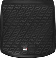 L.Locker Коврик в багажник для Audi A4 '15- седан, резино/пластиковый (Lada Locker)