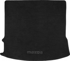 Коврик в багажник для Mazda 5 '05-09, текстильный черный