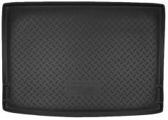 Коврик в багажник для Volkswagen Golf Plus VI '09-14, резино/пластиковый (Norplast)