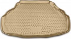 Коврик в багажник для Lexus LS 460 / 600h '06-17, полиуретановый (Novline) бежевый