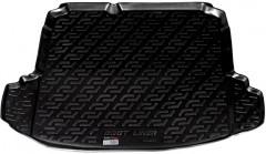 Фото 1 - Коврик в багажник для Volkswagen Jetta V '06-10 седан, резино/пластиковый (Lada Locker)