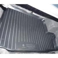 Коврик в багажник для Chevrolet Aveo '03-06 седан, резино/пластиковый (Lada Locker)
