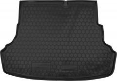 Коврик в багажник для Hyundai Accent (Solaris) '11-17 седан, складывающееся зад. сидение, резиновый (AVTO-Gumm)