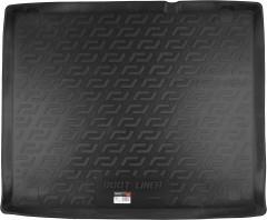 Коврик в багажник для Fiat Doblo '15-, резино/пластиковый (Lada Locker)