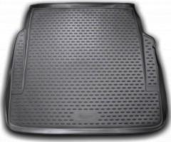 Коврик в багажник для Mercedes S-Class W221 '06-13, полиуретановый (Novline / Element) черный