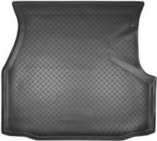 Коврик в багажник для Volkswagen Passat B3/B4 '88-96 седан, резино/пластиковый (Norplast)